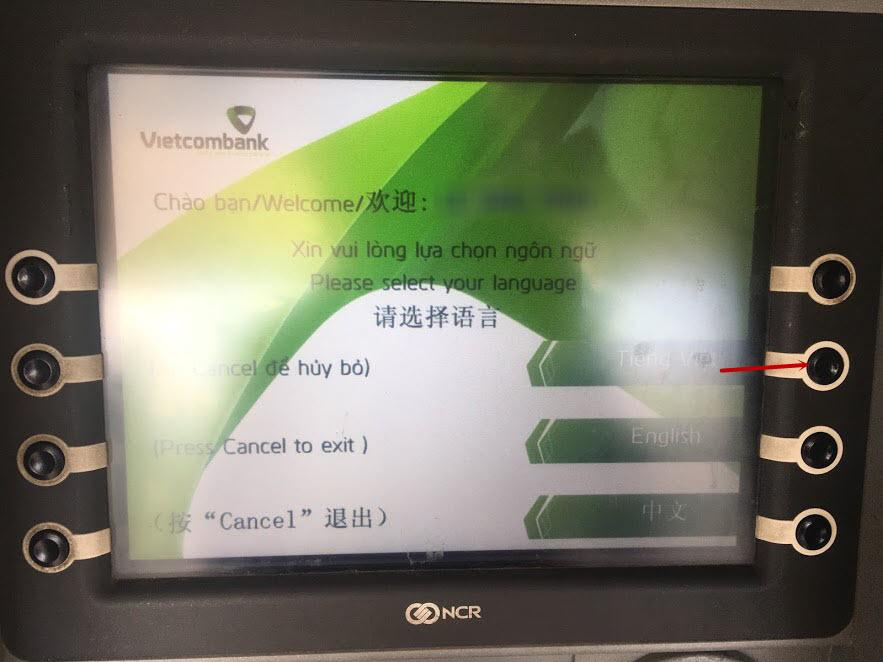 Phí cấp lại PIN thẻ ATM Vietcombank