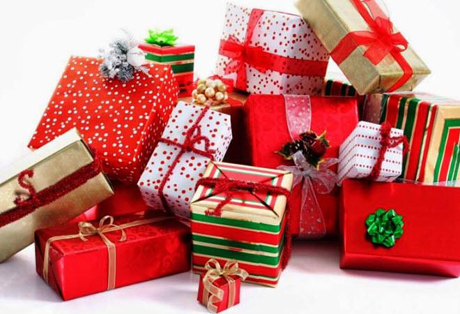 Mua hộp quà trang trí Noel