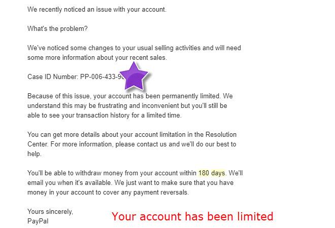 Báo giá rate bán ppvn bị limit 180 days