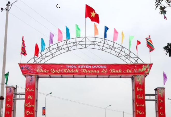 Đi thăm nhà lưu niệm Bác Hồ xã Xuân Dương
